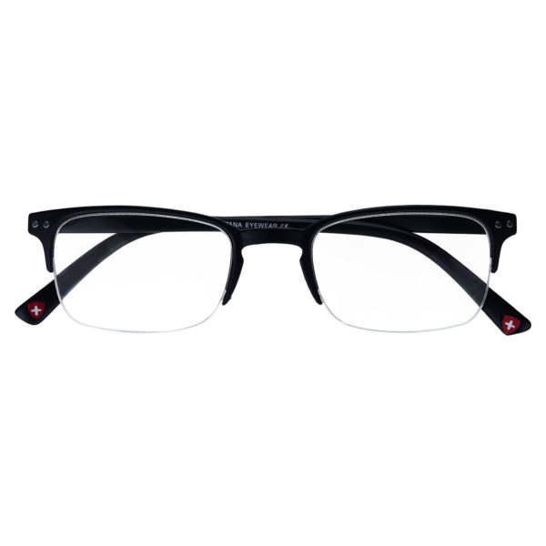 semi rimless reading glasses