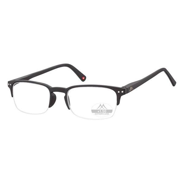 semi rimless reading glasses uk