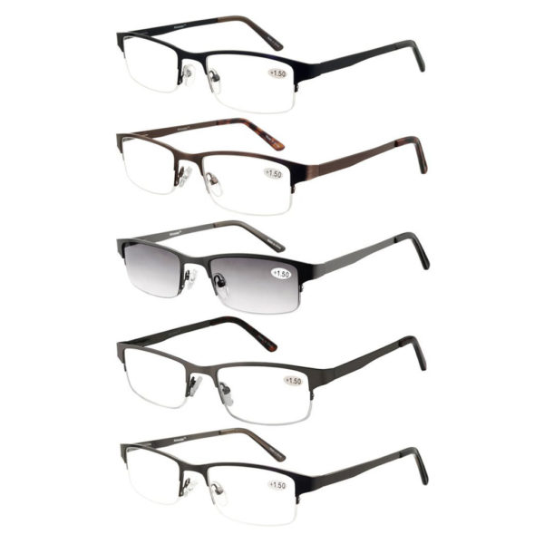 Rimless Half Eye Reading Glasses