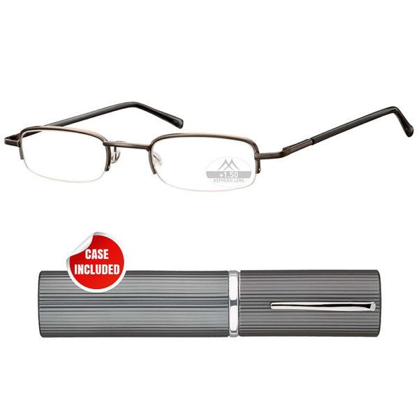 tube reading glasses