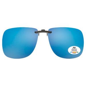 CLIP ON SUNGLASS SHADES | (Blue)