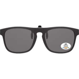 CLIP ON GLASSES | (Black)